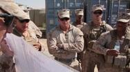 Marines in Afghanistan (HD)m Stock Footage