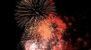 Fireworks July 4th Celebration Stock Footage
