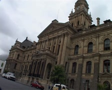 Cape Town City Hall, Cape Town GFSD Stock Footage