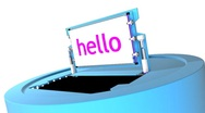 Hello - How are you? (HD) Stock Footage