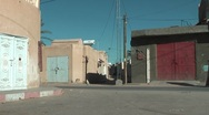 Stock Video Footage of Arab street life in Tunisia, Gafsa