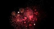 Fireworks Finally Stock Footage