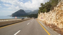 Mountain road 02 Stock Footage