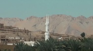Abandoned arabic town Stock Footage