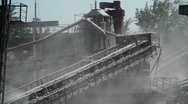Coal factory Stock Footage