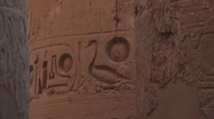 Karnak temple - Luxor, Egypt Stock Footage