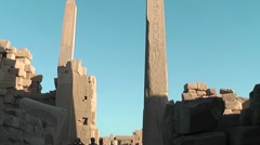 Karnak temple - Luxor Stock Footage