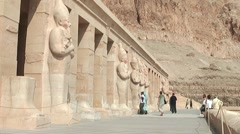 Hatschepsut temple - Luxor Stock Footage