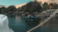 Nile felucca Stock Footage