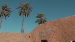 Cave dwellings, museum - Matmata, Tunisia Stock Footage