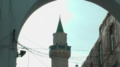 Old Mosque in Tripoli - Medina Stock Footage