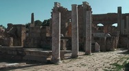 Stock Video Footage of Roman settlement - Leptis Magna
