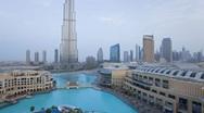 The Burj Khalifa Dubai a Futuristic Modern Design Structure, UAE, T/Lapse Stock Footage