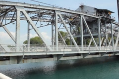 Bridge. SD. Stock Footage
