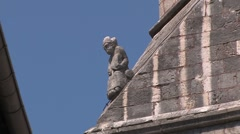 Medieval town Stock Footage