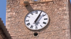 Tower clock Stock Footage