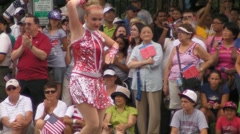 Parade Baton Girls Stock Footage