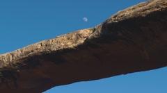 Natural Bridge, Utah, USA (timelapse) Stock Footage
