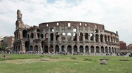 Stock Video Footage of Rome Colosseum fast TL P HD 0515