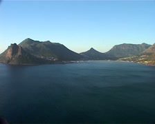 Hout Bay from Chapmans Peak, Cape Town GFSD Stock Footage