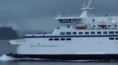 BC Ferry Spirit of British Columbia Stock Footage