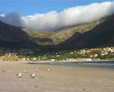 Hout Bay storm blowing, Cape Town GFSD Stock Footage