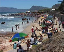 St James Beach WS, Cape Town GFSD Stock Footage