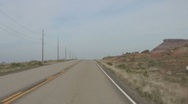 Stock Video Footage of Driving Timelapse on Arizona Route 89