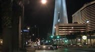 Stock Video Footage of Driving through Las Vegas Timelapse
