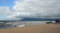 beach - stock footage
