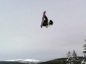 Stock Video Footage of Snowboarding Competition - tricks