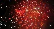Stock Video Footage of Fireworks rack focus beautiful