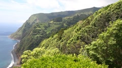 View from Ponta Sossego viewpoint - stock footage