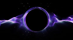 3D Looping Background Stock Footage