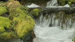 Big Spring Creek Falls 13 - stock footage