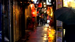 Tokyo Alley Stock Footage