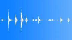Aluminium ladder short noises Sound Effect