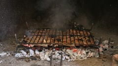 Embers and ashes Stock Footage