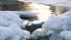 Cold River Stock Footage