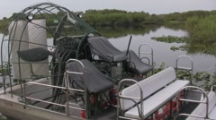 Air boat Stock Footage