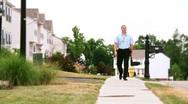 Door-to-Door Salesman 2187 Stock Footage