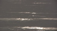 Stock Video Footage of Ocean waves reflection sun sparkle