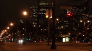 San Francisco Night Streets Time Lapse HD Stock Footage