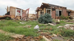 Joplin Tornado Damage Stock Footage