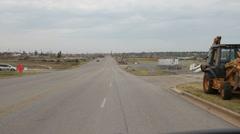 Joplin Tornado Driving Tour Stock Footage