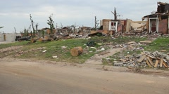 Joplin Tornado Damage - stock footage