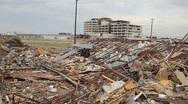 Stock Video Footage of Joplin Hospital after Tornado