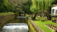 River in Furnas Stock Footage