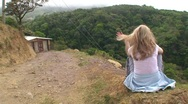 Stock Video Footage of Female Tourist  in Costa Rica