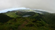 Sete cidades crater valley Stock Footage